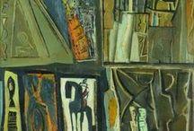 Scrittura enigmatica / Nelle opere di Mario Sironi il mondo diventa una scrittura a caratteri misteriosi, che scopre bassorilievi e graffiti su qualsiasi superficie...