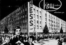 SHOPPING IN THE PAST / FORMER SHOPPING PLACES THAT ARE NOW GONE! / by Cheshire Studios Antiques