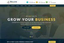 Business Website / Web design layout inspiration
