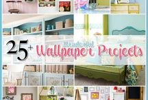 WALL PAPER WONDERFULS / This Board presents the wonderful world of wallpaper and some of it's versatile uses that the amazing talents of our Pinterest Community have shared .These pieces are truly stunning, I haven't known wallpaper to ever look so great. These pieces bring an another layer to the old retold.