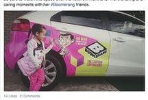 Boomerang / The cartoon superstars