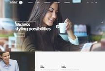 Official Website / Web design layout inspiration