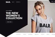 Fashion Website / Web design layout inspiration