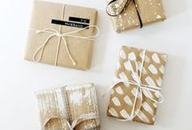 DIY Gift Inspiration / Unique gifts for art lovers!