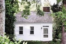 Shed + Porch + Yard / Exterior ideas