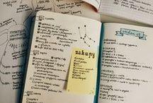 Bullet Journal Inspirações / Criando um espaço de organização baseado no bullet journal.