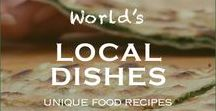 Local Food Around the World / Food and drink around the world | Travel and eat  local dishes | Local food recipes | Best local food restaurants