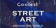 Street Art Around the World / Best collection of street art around the world   Graffiti   Public Art   City Art   Street Art and Travel