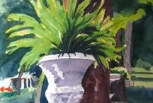 What I do / Original paintings by Katrina West.  Prints and cards may be purchased on Fine Art America.