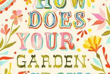 Garden & Flower Tip's & Idea's / by Vickie Tunnell