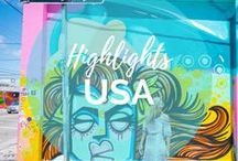 USA Travel Highlights / United States of America our home country! We traveled the USA in a minivan on a 3-month long road trip but have so much more to see! On our site, you can discover Alaska, California, Florida, Hawaii, Minnesota, Montana, New York, Nevada, North Carolina, North Dakota, Oregon, South Dakota, Washington, Wisconsin and Wyoming || Read more on: gettingstamped.com/united-states