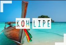 "Koh Lipe / Koh Lipe Thailand, also known as ""The Maldives of Thailand"" is our favorite island in the world! The pictures explain why...come discover this slice of heaven."