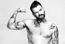 Boys/tattoos/beards/glasses / by Emily Speakman