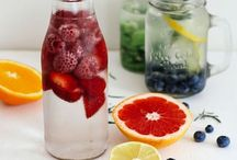 Infused water&fresh juices