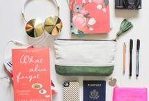 Sacs de voyage / Séléction de sacs et valises pour le voyage ! Voyager pratique, voyager chic, voyager seul, voyager en famille comment organiser son sac et lequel choisir pour qu'il nous ressemble !