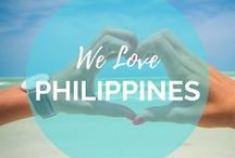 Philippines Love / Come explore the Islands of the Philippines! We've visited Boracay, Coron, El Nido, Palawan, and Manila. Can't wait to get back and explore more!    Read more on: gettingstamped.com/Philippines