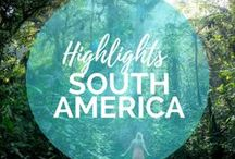 South America Travel Highlights / Let's travel to South America and explore Peru, hike Machu Picchu and explore Colombia and Ecuador together!    Read more on: gettingstamped.com/destinations