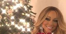 Christmas Celebrities / 'tis the season to be jolly