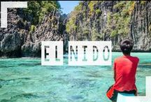 El Nido / Named the most gorgeous island in the world for a reason..welcome to El Nido located in the Palawan Philippines. More on El Nido visit http://www.gettingstamped.com/2014/03/19/destination-investigation-el-nido-palawan-island-philippines/