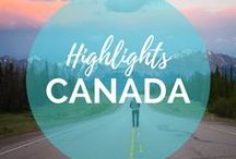 Canada Travel Highlights / We've had a few adventures in Canada, from soaring high above Banff on a helicopter tour to having a classic luxury stay in Vancouver... there is so much more to discover! || Read more on: gettingstamped.com/canada