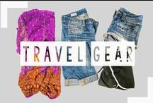 Travel Gear / The right travel gear makes traveling so much easier!