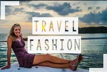 Travel Fashion / You have to look good traveling around the world! With a few staple pieces you can stay fashionable while traveling the world. This is my board for outfits I love and travel fashion items.