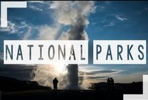National Parks / Exploring the National Parks one at a time! We hit a few on our US road trip but so many more to visit.