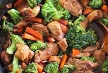 Zöldséges ételek / Zöldségből készült ételek