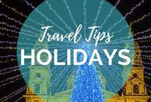 Travel with the Holidays & Christmas / Christmas markets in Europe on your bucket list? Looking to celebrate the Holidays in Thailand on the beach? Searching for the best gifts for friends and family this Christmas? You can find all types of Travel Holiday Inspiration in this board!    Read more on: gettingstamped.com/?s=christmas