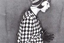 Mid 60s fashion / It's a blast from the past! Space Age, Op Art and Pop Art dresses and styles