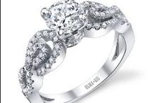 Elma Gil / ladies engagement and wedding rings