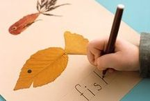 Fun with Seasons: Fall / Celebrating the fall with seasonal crafts, art, family traditions & more.