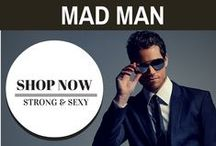 Mad Man / Mad Style's new line of menswear has been growing with every season! Shop for new items such as men's scarves, satchels, watches, bracelets, and travel kits. Maybe pick up a few tips along the way.