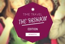 Time Travel: Fashion Edition / Fashion is a little like time travel, always borrowing from the past but living in the future. Outside sources definitely influence our fashion whether its from the latest blockbuster movie, new technology, the changing style of celebrities, or even the growing popularity of Pinterest. Here are some predictions for trends, styles, colors, & pieces sweeping fashion.