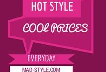 Hot Style. Cool Prices. MAD Savings! / Fashion accessories great to BOGO [buy one! gift one!] Following this board will get you a first row seat to the best retail sales Mad Style has to offer! New items will be added every week. If you are interested in wholesale discounts for any items please contact Mad Style directly or contact the representative in your area. TO SEE SALE PRICES YOU MUST LOGIN TO MAD STYLE'S WEBSITE.  #mymadstyle