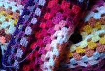 Style Craft Granny / Een Granny gehaakt met alle kleuren van Style Craft