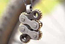 Bike Lovers / Acessórios Criados com partes de bicicletas