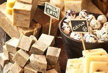 Soap, and stuff... / Displays, recipes, natural