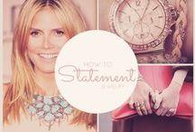 How To Statement Jewelry / Statement Jewelry Pieces - McKenzie Douglas by Mad Style