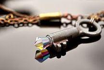 Keys - Rust Miner / Pingentes criados com chaves antigas ou descartadas.