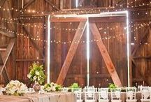 W E D D I N G / Wedding Décor Ideas - Idées Décoration Mariage | #Decor #Wedding #Mariage #Déco #Rustique #Champêtre