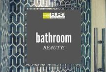Bathroom Gallery / No matter what type of bathroom you like, classic, modern, chic, relaxing... We have products that will inspire the designer inside you. http://eurotilestone.com/gallery/bathroom/