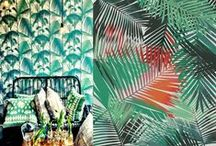 J U N G L E / Inspirations de décoration jungle et exotique - Exotic & Wild Home Decor Inspiration | #jungle #déco #decor #décoration #design #nature #feuilles #feuillage #wild #exotic #exotique #exochic #tendances #2016