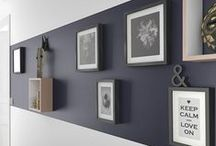 F R A M E S / Murs de cadres - Wall Frames | Blog déco MYDECOLAB | #cadres #encadrements #mur #wall #frames #framing