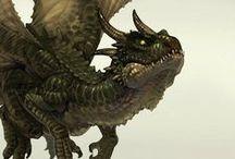 Geek stuff, dragons and myths