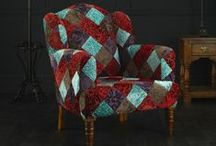 Occasional Chairs / Placed creatively, a single occasional chair can completely transform a space, either becoming a focal point or seamlessly blending with an existing aesthetic. Lovingly created to complement our range of made to order sofas, our occasional chairs range from the subtle to the vibrant, offering design solutions that are at once modern and timeless. From unusual patchwork fabrics to a more subtle design these small occasional chairs will brighten up any room.