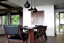 Contemporary / Simple, clean lines. Great spaces to relax and unwind. Made for living.