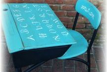 Upcycled Chairs Transformations / Old chairs that are transformed into great pieces