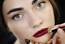 Lipstick is forever / The most beautiful makeup of a woman is passion. But cosmetics are easier to buy