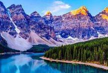 Voyage ~ Paysage magnifique / À visiter un jour dans ma vie! <3